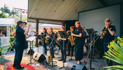 Coffs Con Stage Band in Concert
